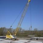 Pre-cast concrete arrives for Sunderland's new bridge deck