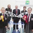 Pupils shine at bridge-building