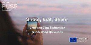 Shoot, Edit, Share @ David Puttnam Media Centre, St Peters Campus | England | United Kingdom