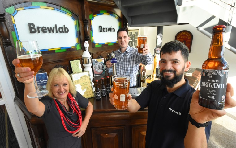 The North East Business and Innovation Centre's Louise Hardy at Sunderland organisation, Brewlab.