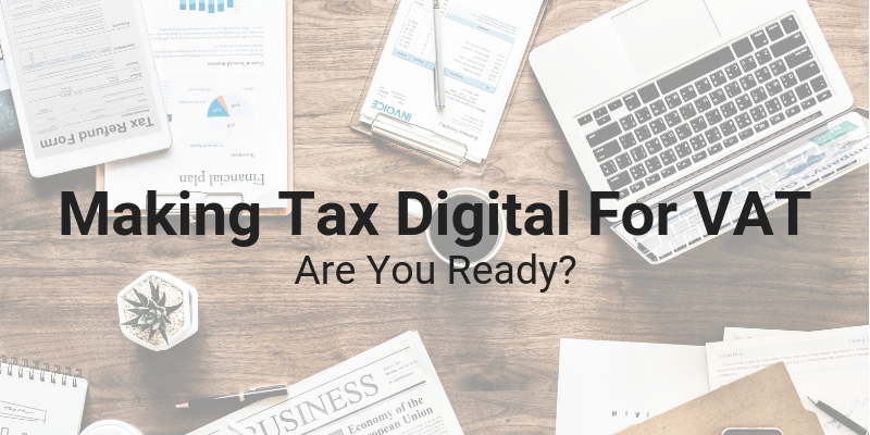 Making Tax Digital for VAT - Are You Ready? @ North East BIC