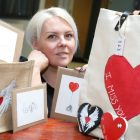 Heartfelt art hopes to spread love to the masses