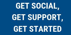 Get Social, Get Support, Get Started! @ North East BIC