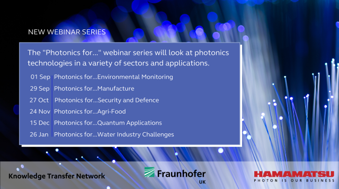 Photonics for... Online Series @ Online Webinar