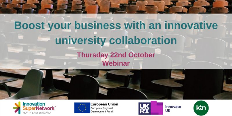 Boost your business with an innovative university collaboration @ Online Event