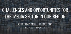 Challenges and opportunities for the media sector in our region @ Zoom
