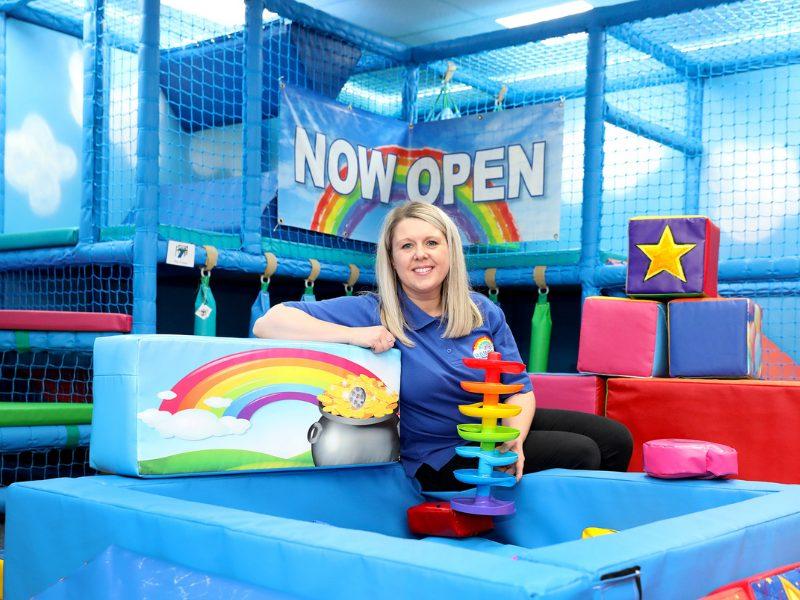 Fiona Pattison, founder of Rainbows Sensory Space